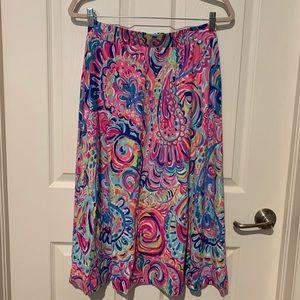 Lilly Pulitzer Shia Skirt - Psychedelic Sunshine